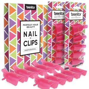 Gel Nail removal clips